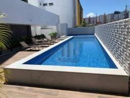 Apartamento com 3 dormitórios à venda, 75 m² por R$ 420.000 - Jatiúca - Maceió/AL
