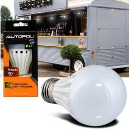 Lâmpada de led econômica automotiva 12v p/ bateria 12v Autopoli e Lumiere