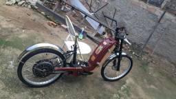 Vendo essa bicicleta elétrica tirar peças.