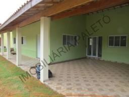 REF 399 Chácara 1000 m², 150 m² área construída, piscina, Imobiliária Paletó