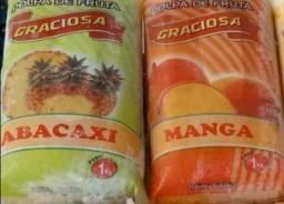 Polpas de frutas, ótimo preço !