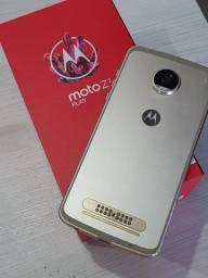 Celular Motorola Moto Z2 Play 64gb Dual Dourado Seminovo