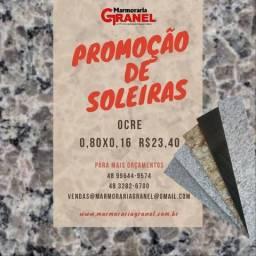 SOLEIRAS EM PROMOÇÃO 0,80x0,16 Ocre