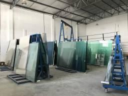 Vendemos vidro comum ou temperado