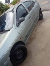 Renault Megane 1.6 Cinza Hatch 99/00 - 1999