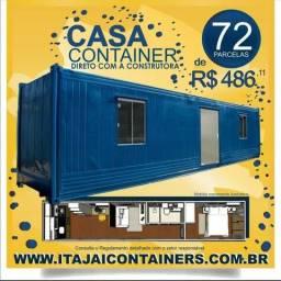 Casa container! Chegou a hora de você comprar a sua!