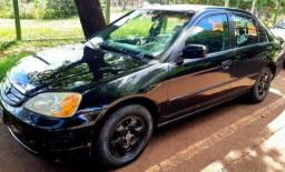Honda civic 2003 completo+couro ( dourados ms ) - 2003