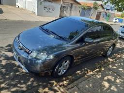 Honda Civic 2007 LXS + COURO - 2007