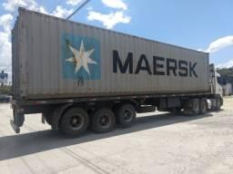Carreta carga seca / porta container