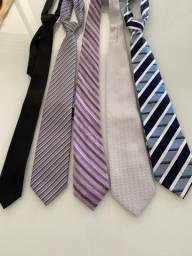 Lote 5 gravatas