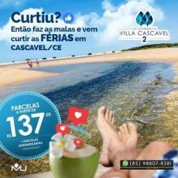 Villa Cascavel 2 no Ceará Terrenos (Próximo da praia) !(