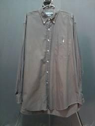 Camisa Ralph Lauren L com bolso.