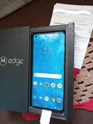 Motorola Edge 5G 128/6GB RAM Tela 6.7 FHD+ Oled 90Hz Novo