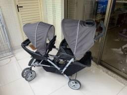 Carrinho Bebê Duplo Graco Duoglider Double Stroller