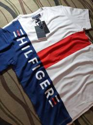 Camiseta Tommy Hilfiger Malha Peruana