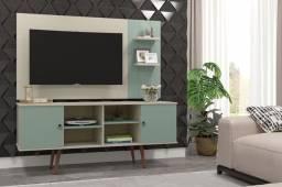 Rack Estrela Com Painel Itália, Ideal Para TVs até 50 Polegadas - Entrega Imediata