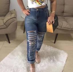 Calça jeans nova boyfriend