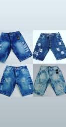 Shorts Jeans e Sarja Masculino Multimarcas