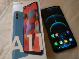 Galaxy A11 64 GB ( ACEITO TROCA LEIA )