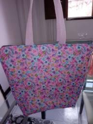 Bolsa customizada em tecido