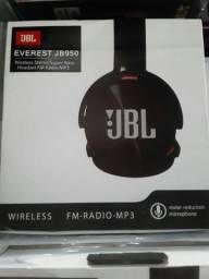 Fones de ouvido via Bluetooth JBL + cabo auxiliar 90 reais