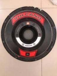 Som automotivo - Grave Vulcano 15 3.0 e 2 Medios eros 12 450lc black