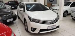 Toyota corolla altis 2.0 aut. branco 2015 flex