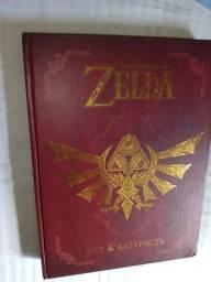 Livro: Zelda Art Artifacts em bom estado preço negociável