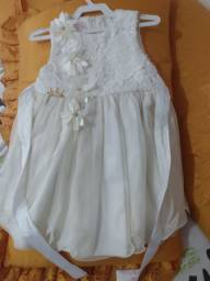 Vestido infantil  para festa ou batizado