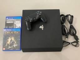 PlayStation 4 Pro - 4K- PS4 Pro 1 Tb de Armazenamento
