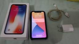 VENDE-SE OU TROCO IPHONE X 64gb top