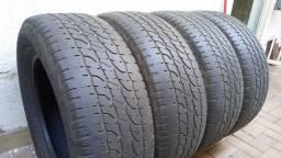 4 Pneus de Camionete aro 18 Michelin (265/60/18)