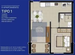 Apartamento para alugar, 35 m² por R$ 1.700,00/mês - Soledade - Recife/PE