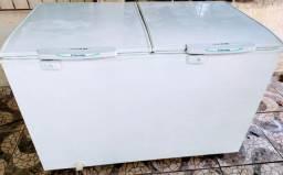 Freezer Electrolux Horizontal Duas Portas Cycle Defrost 385L Branco  - H400<br><br>