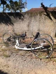 Vendo bicicleta para cadeirante handbike ventus