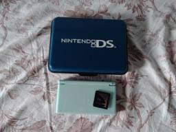 Nintendo Ds Lite Turquesa - Parou De Funcionar - No Estado