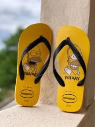 Havaianas Simpsons original 39 40
