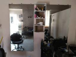 2 espelhos para salão de beleza ou barbearia cabelereiro