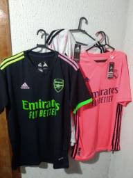 Camisas de Time , Arsenal , Real Madrid, Manchester United .