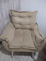 Cadeira acolchoada