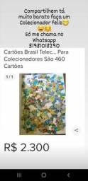 Cartões da Brasil Telecom para colecionadores
