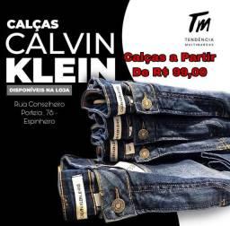 Calças Calvin Klein e Lacoste - ORIGINAIS
