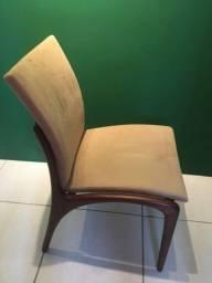 Cadeira Design de madeira nobre maciça