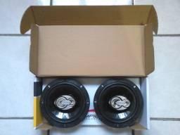 Alto falantes 5 ou 6 polegadas para portas (Triaxiais, 100wRMS) Novos, na embalagem