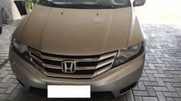 Honda City EX - Automático 2012/2013 - Prata