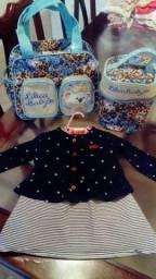 Kit bolsa da Lilica Ripilica e vestido com casaquinho Lilica Ripilica