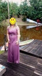 Maravilhoso vestido de festa