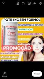 Produtos de cosmetico salão