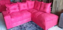Sofá pop vermelho ((novo))