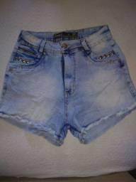 20 reais cada um Short jeans e short saia